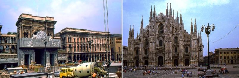 IT052805 Italia Milanon Piazza del Duomo remontissa 1989