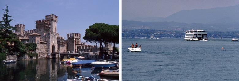 IT140706 Italia Sirmione Gardajärven rannalla Lombardiassa