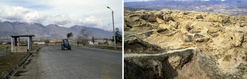 TJ022901 Tadžikistan Pamirvuoristoa Pendzikentistä