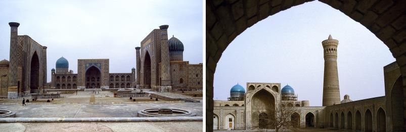 UZ022738 Uzbekistan (NL) Samarkandin Registan-aukio