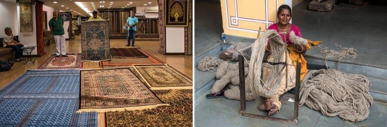 IN_151025 Intia_0196 Kasmir-mattokauppa Delhissä
