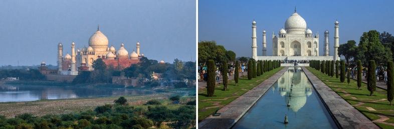 IN_151030 Intia_0696 Agran Taj Mahal iltavalossa