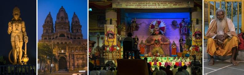 IN_151031 Intia_0752 Hanumanin patsas Delhin Chattarpur Ka Mandi