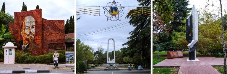RU_151011 Venäjä_0207 Sotšin Lenin-mosaiikki