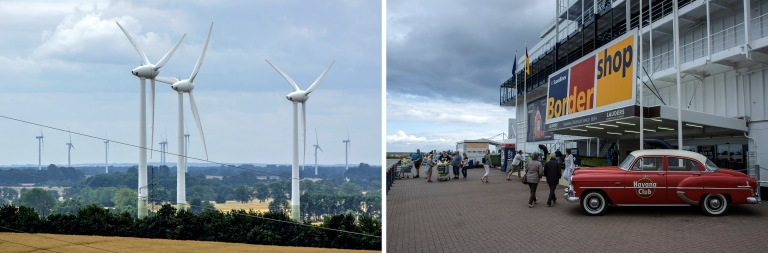 DE_150720 Saksa_0050 Tuulimyllyjä Heiligenhafenissa Schleswig-H