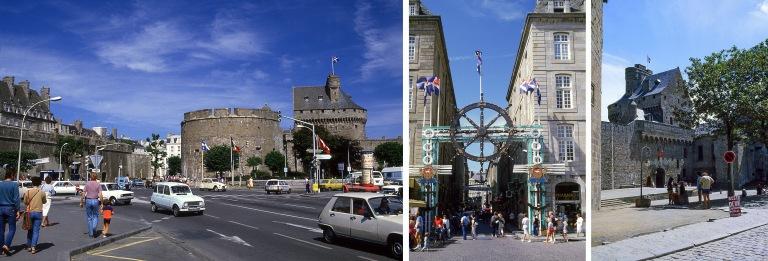FR021219 Ranska Saint-Malon vanhaa kaupunkia 1984