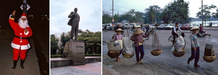 VN216927 Vietnam Joulupukki Hanoissa 1995