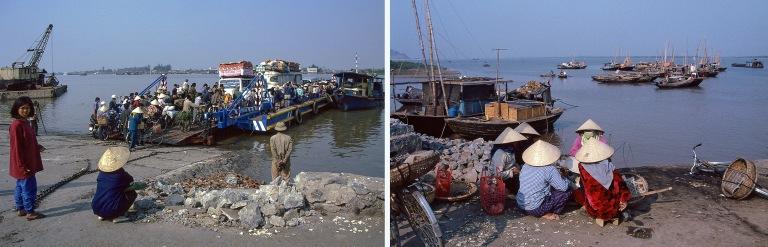 VN217132 Vietnam Haiphongin lauttasatama Cấm-joen yli Pohjois-