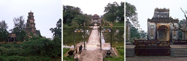 VN218621 Vietnam Huen Thien Mo-pagoda Keski-Vietnamissa