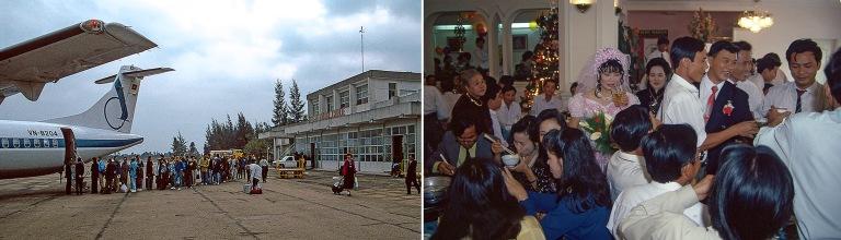 VN219331 Vietnam Vietnam Airlinesin ATR Huen kotimaan kentällä
