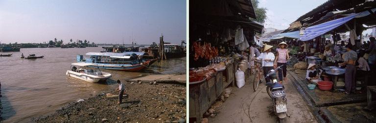 VN220107  Vietnam Mython satamaa Tien Giangin provinssissa Etel