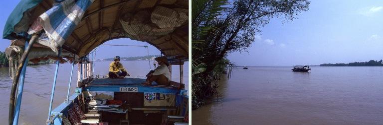VN220122  Vietnam Mekongin suistossa Tien Giangin provinssissa E