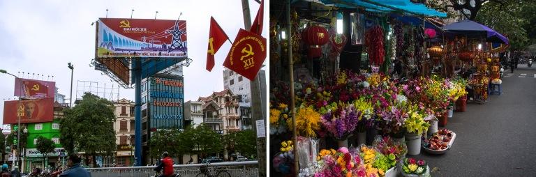 VN_160227 Vietnam_0063 Puolueen XII edustajakokouksen mainontaa