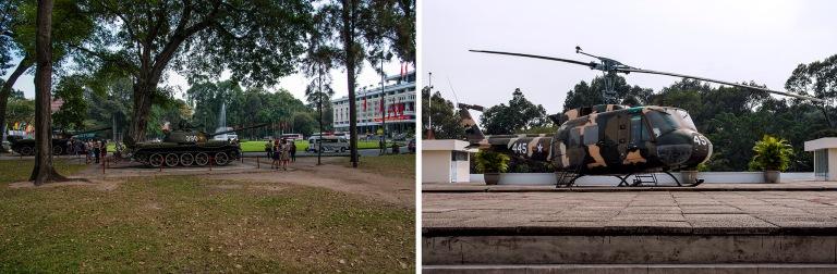 VN_160209 Vietnam_0208 Vapauttajatankit Ho Chi Minhin Jälleenyh