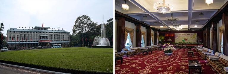 VN_160209 Vietnam_0281 Ho Chi Minhin Jälleenyhdistymisenpalatsi