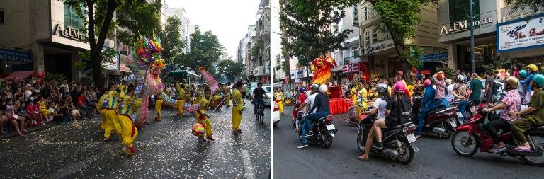 VN_160209 Vietnam_0389 Lohikäärme-esitys HCMC Saigonin Ly Tu T