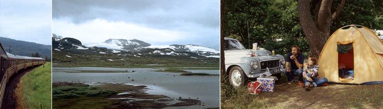 NO007015 Skandien vuoristoa Bergenin radalta
