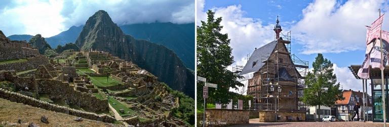 PE272511 Peru Inkojen Machu Picchu Urubamban laaksossa