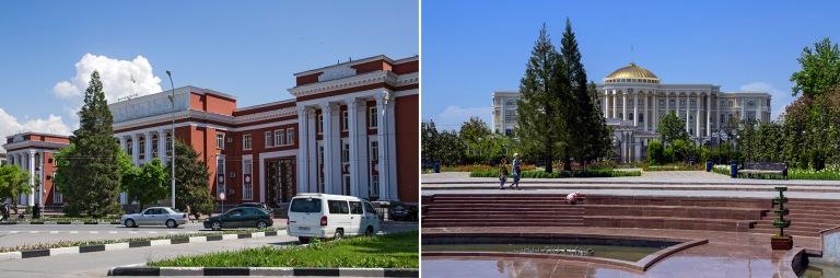 TJ_160425 Tadžikistan_0129 Maan parlamentti Dušanbessa