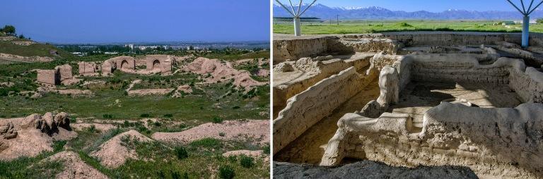 TJ_160427 Tadžikistan_0206 Antiikin Panjakentin kaivauksia