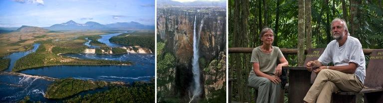 VE_080301 175 Venezuela Canaiman kansallispuiston laguuni vesipu