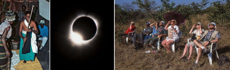 ZW444604 Zimbabwe Keskitalven rituaalijuhla afrikkalaisessa kyl