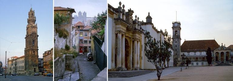 PT037105 Portugali Porton Igreja dos Clérigosin Torre dos Clér