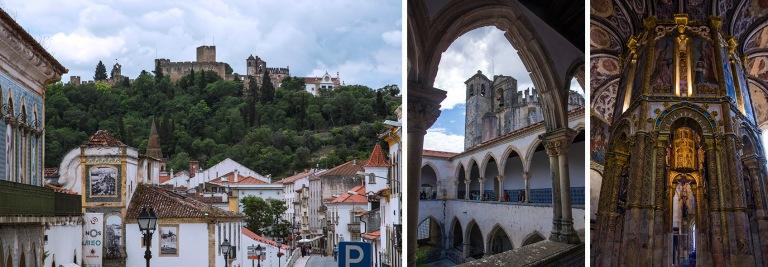 PT_160617 Portugali_0018 Tomarin vanhaa kaupunkia Kristuksen luo