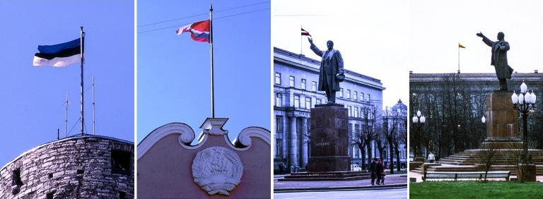 EE_049832 Viro Lippu Pikk Hermannin tornissa 1989