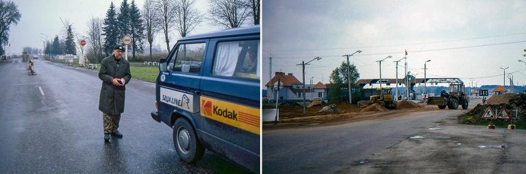 LT100507 Liettua Latvian vastainen raja-asema