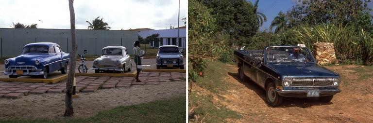 CU252728 Kuuba Autokantaa Santa Luciassa Camagüeyssa