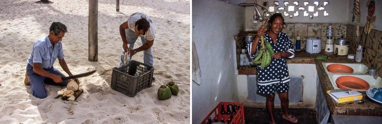 CU253030 Kuuba Kookospähkinää ja rommia Bocan kookosrannalla