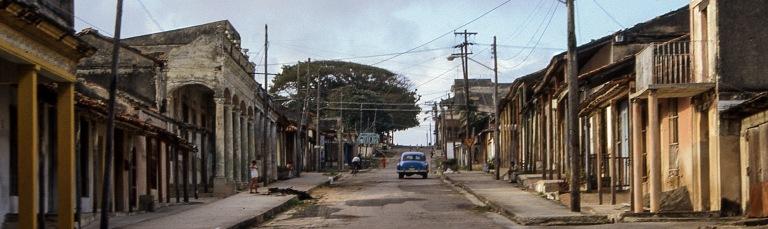 CU254606 Kuuba Nuevitasin kolonialistista keskustaa Camagüeyn p