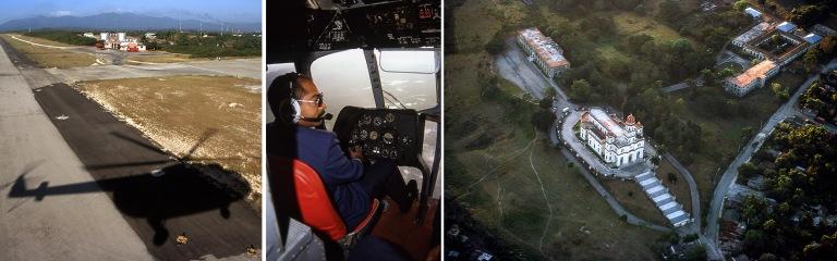 CU255008 Kuuba MI-8-helikopteri saapuu Santiago de Cuban kentäl