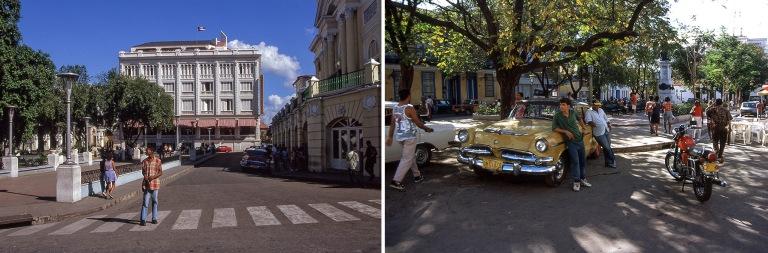 CU255425 Kuuba Santiago de Cuban Parque Cespedes ja Hotel Casa G