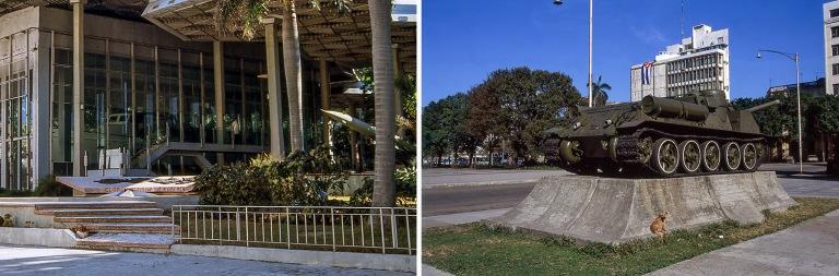 CU257129 Kuuba Granma-veneen suojarakennus Havannan Vallankumous