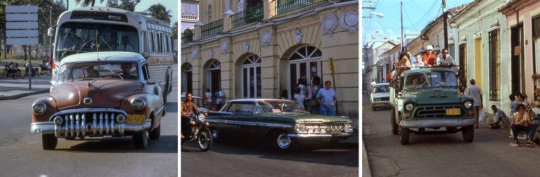 CU257219 Kuuba Havannan rantatien liikennettä