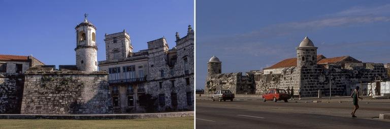 CU257224 Kuuba Havannan Castillo de la Real Fuerzan kellotorni j
