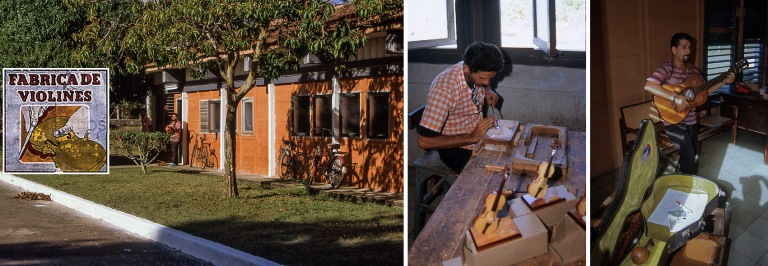 CU257826 Kuuba Fabrica de Violinesin soitintehdas Minasissa Cama