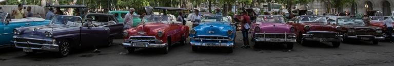 CU_161102 Kuuba_0117 Avotaksiklassikkoja Havannan Keskuspuiston