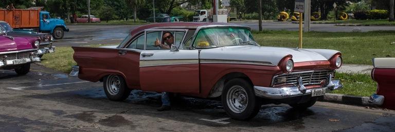 CU_161104 Kuuba_0163 Ford Fairlane 1957 Havannan Vallankumousauk