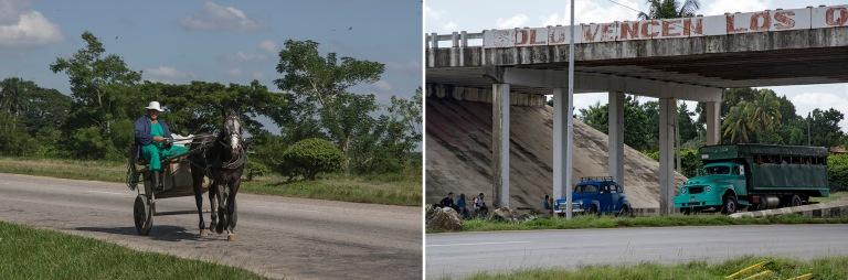 CU_161105 Kuuba_0159 Autopistan hevosliiikennettä Artemisan pro