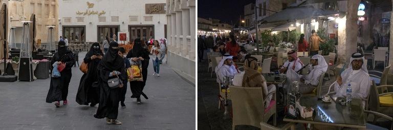 QA_170212 Qatar_0066 Dohan vanhaa kaupunkia