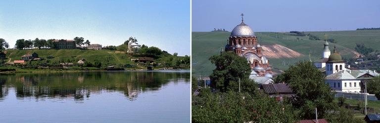 RU304233 Venäjä Svijažskin luostarisaari Tatarstanissa