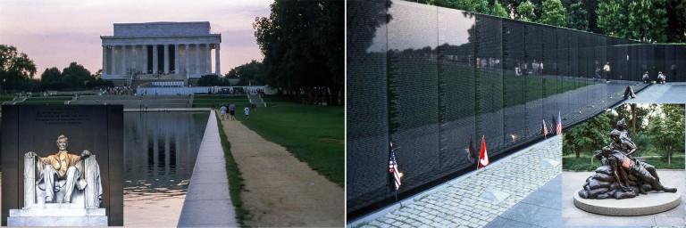US244334 Yhdysvallat Vietnamin sodan muistomerkki Washingtonissa