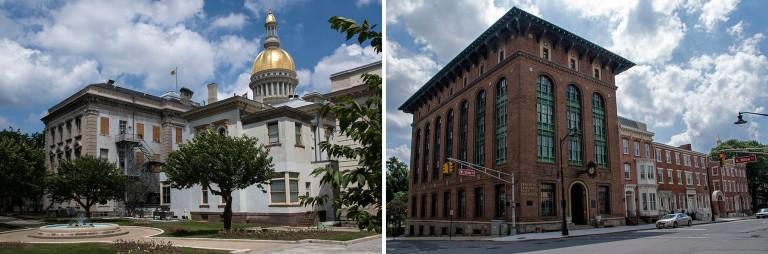 US_170618 Yhdysvallat_0058 New Jerseyn State Capitol Trentonissa