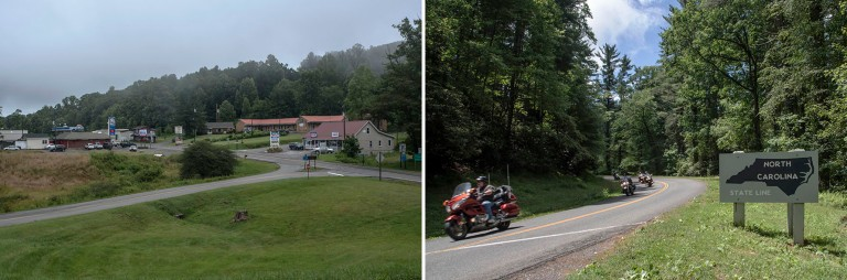 US_170623 Yhdysvallat_0011 Fancy Gapin kylä Virginiassa