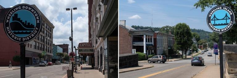 US_170705 Yhdysvallat_0052 Wheelingin Main Street West Virginias