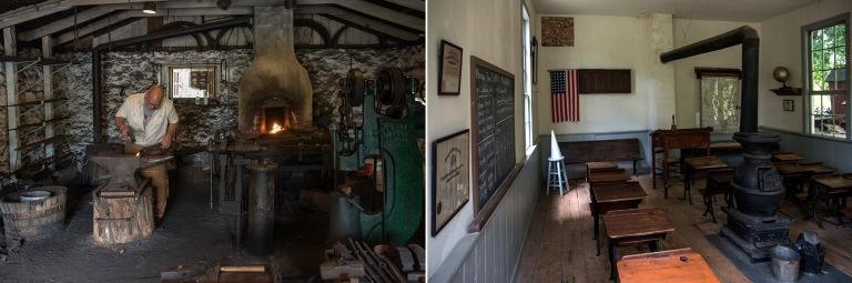 US_170707 Yhdysvallat_0054 Red Mill Museum Villagen Blackmiths s