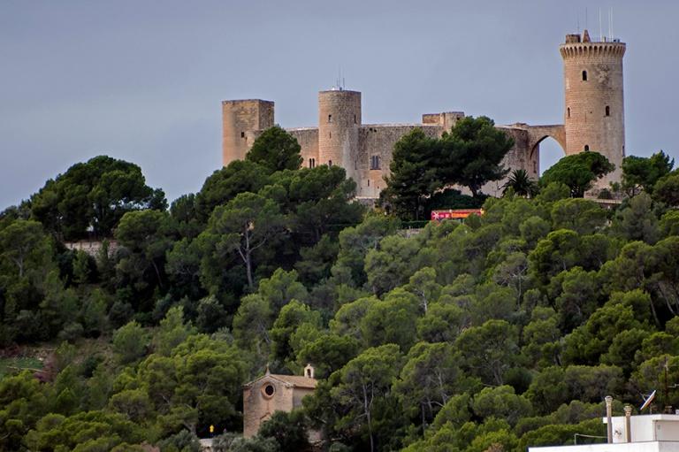 ES_171130 Espanja_0042 Palma de Mallorcan Bellverin linna
